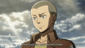"Episode 31 ""The warrior"" from Attack On Titan 2"